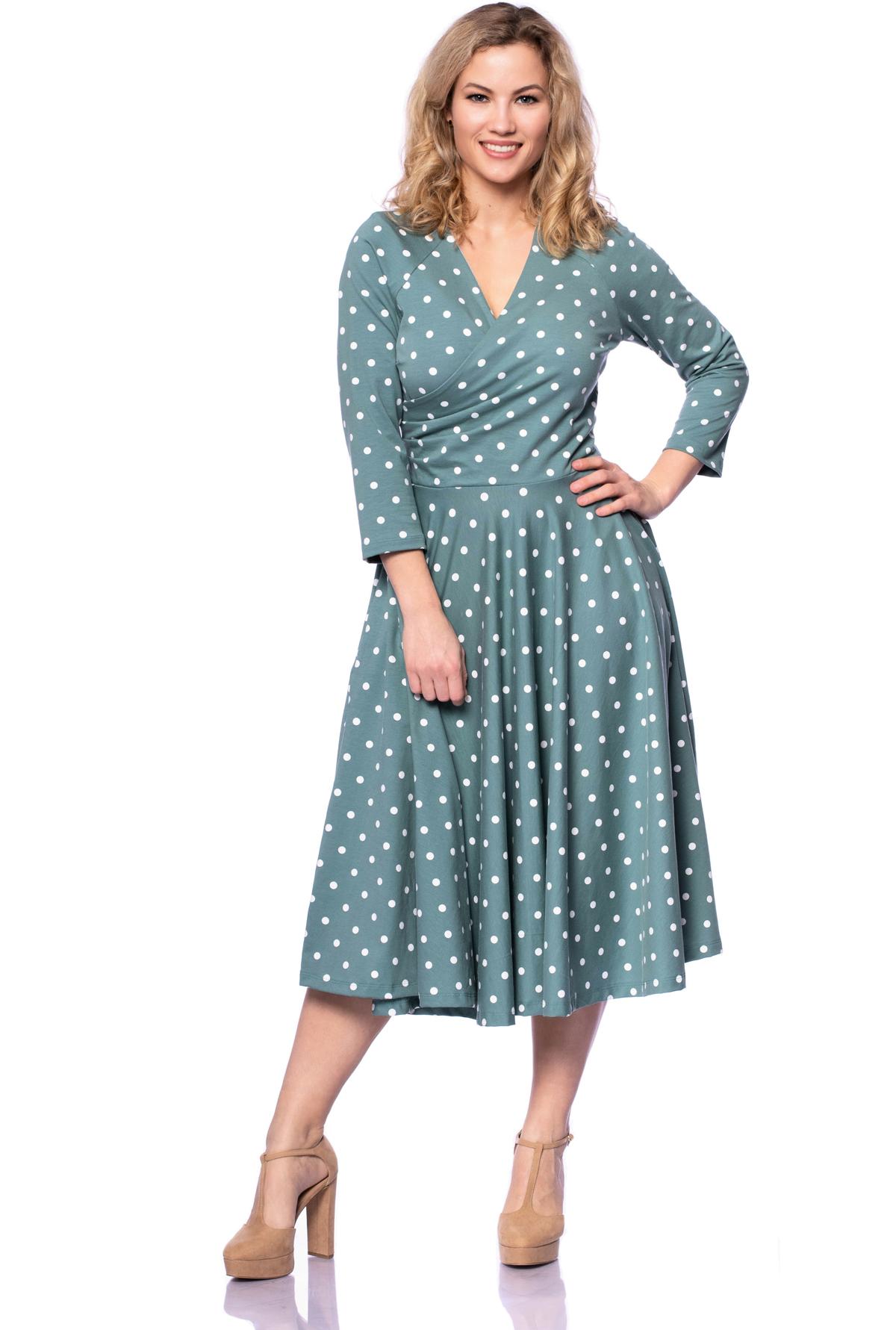 kleid,damenkleid,tellerrock,50er,bio,mode,elegant,damenmode
