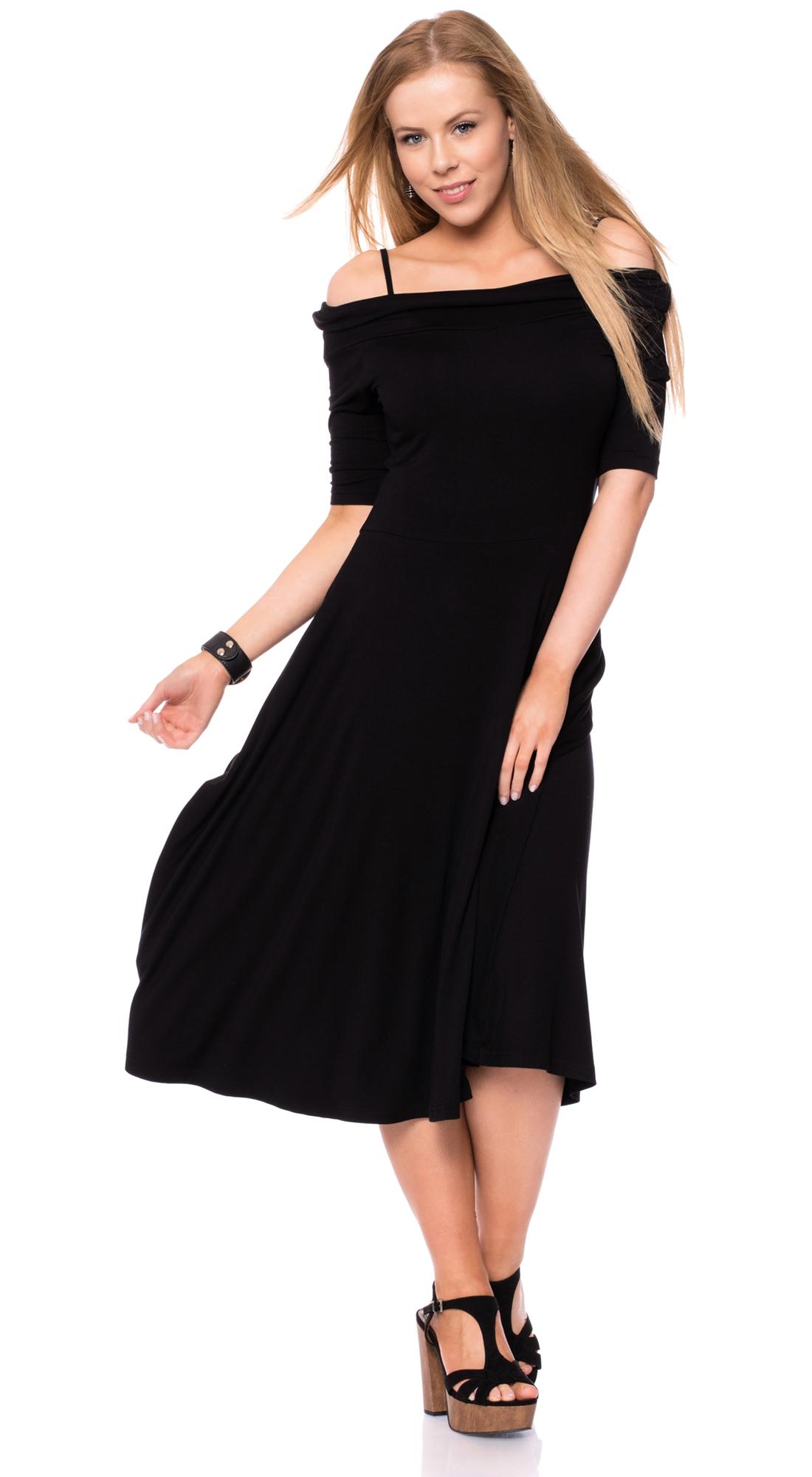Schwarzes Elegantes Kleid - Abendkleider & elegante ...